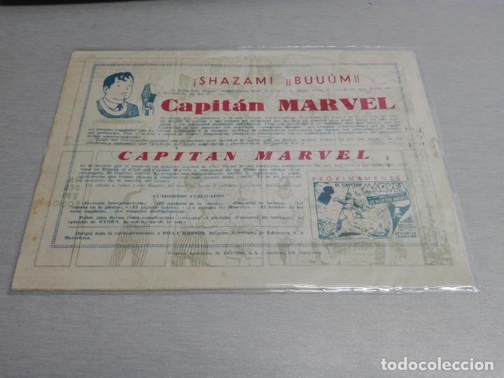 Tebeos: EL CAPITÁN MARVEL / LOTE CON 24 NÚMEROS / HISPANO AMERICANA ORIGINAL 1947 - Foto 17 - 164223218