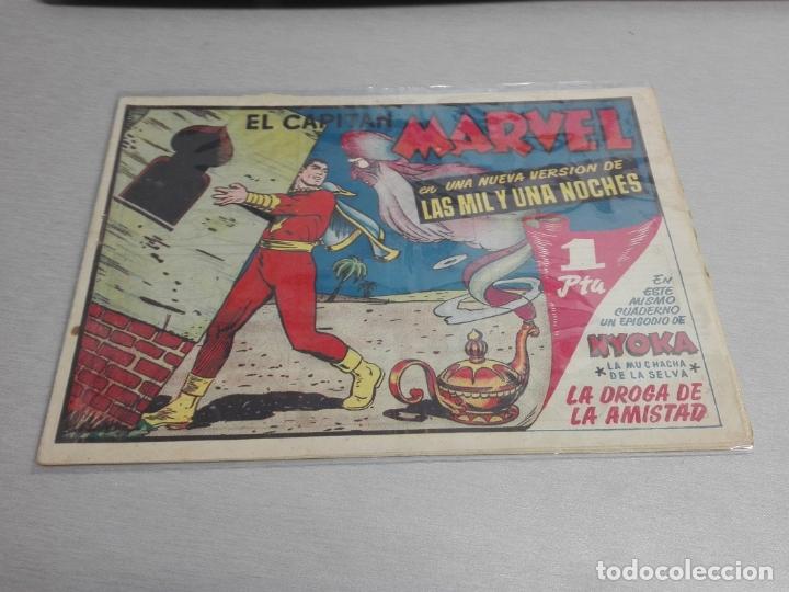 Tebeos: EL CAPITÁN MARVEL / LOTE CON 24 NÚMEROS / HISPANO AMERICANA ORIGINAL 1947 - Foto 18 - 164223218
