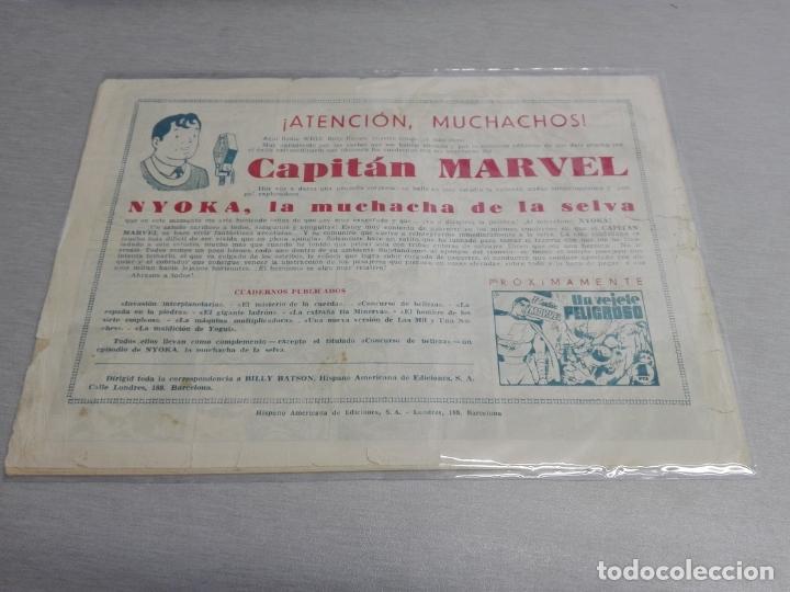 Tebeos: EL CAPITÁN MARVEL / LOTE CON 24 NÚMEROS / HISPANO AMERICANA ORIGINAL 1947 - Foto 21 - 164223218