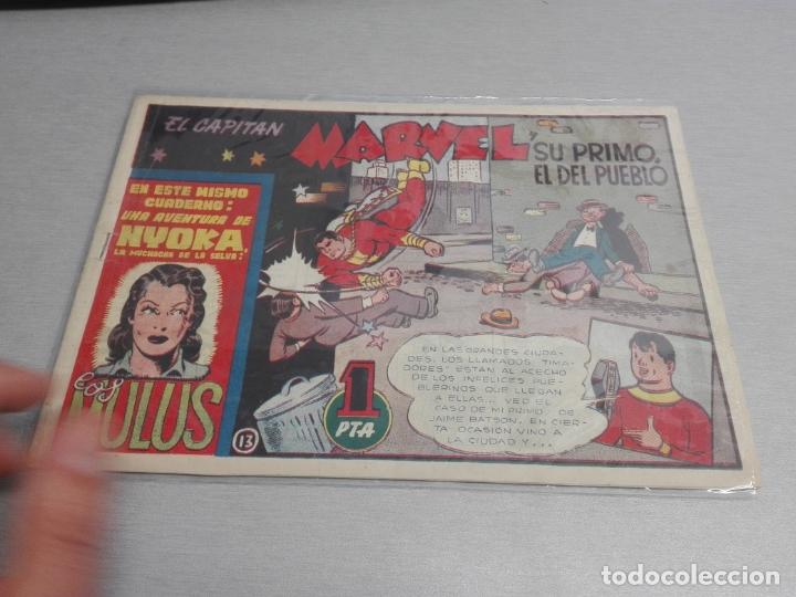 Tebeos: EL CAPITÁN MARVEL / LOTE CON 24 NÚMEROS / HISPANO AMERICANA ORIGINAL 1947 - Foto 22 - 164223218