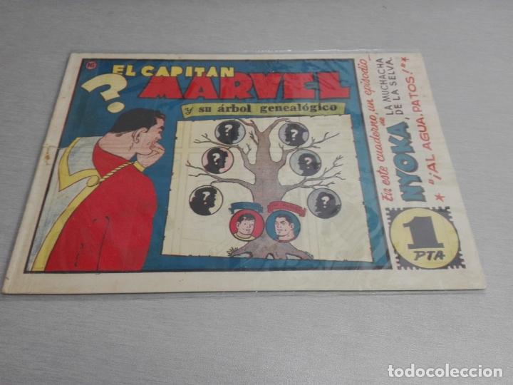 Tebeos: EL CAPITÁN MARVEL / LOTE CON 24 NÚMEROS / HISPANO AMERICANA ORIGINAL 1947 - Foto 24 - 164223218