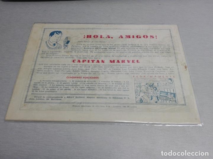 Tebeos: EL CAPITÁN MARVEL / LOTE CON 24 NÚMEROS / HISPANO AMERICANA ORIGINAL 1947 - Foto 25 - 164223218