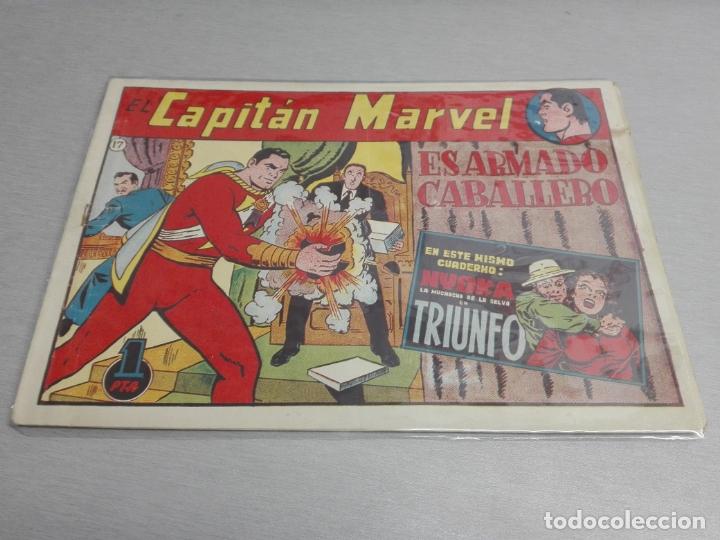 Tebeos: EL CAPITÁN MARVEL / LOTE CON 24 NÚMEROS / HISPANO AMERICANA ORIGINAL 1947 - Foto 26 - 164223218