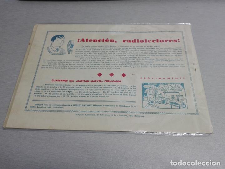 Tebeos: EL CAPITÁN MARVEL / LOTE CON 24 NÚMEROS / HISPANO AMERICANA ORIGINAL 1947 - Foto 27 - 164223218