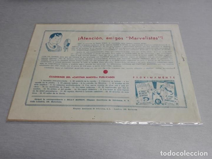 Tebeos: EL CAPITÁN MARVEL / LOTE CON 24 NÚMEROS / HISPANO AMERICANA ORIGINAL 1947 - Foto 29 - 164223218