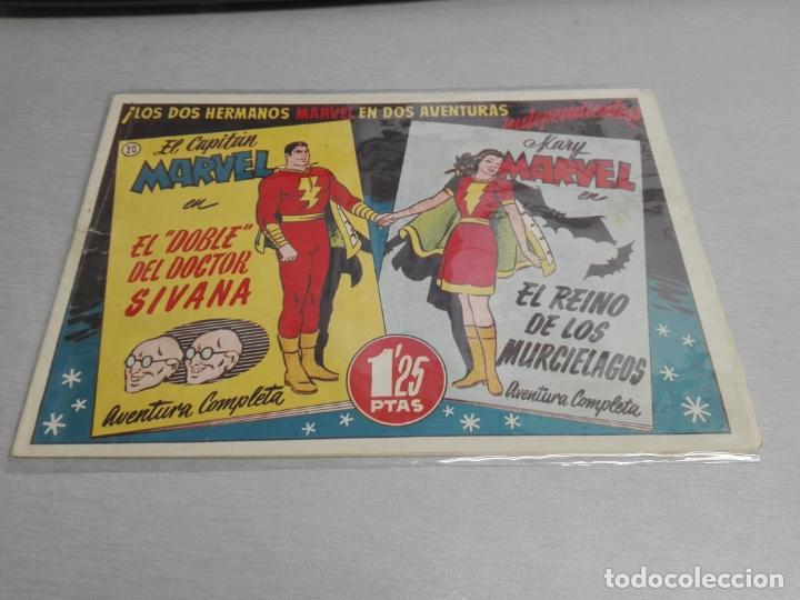 Tebeos: EL CAPITÁN MARVEL / LOTE CON 24 NÚMEROS / HISPANO AMERICANA ORIGINAL 1947 - Foto 30 - 164223218