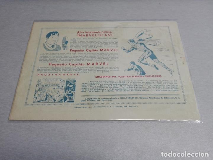 Tebeos: EL CAPITÁN MARVEL / LOTE CON 24 NÚMEROS / HISPANO AMERICANA ORIGINAL 1947 - Foto 33 - 164223218
