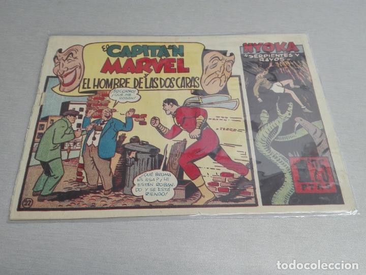 Tebeos: EL CAPITÁN MARVEL / LOTE CON 24 NÚMEROS / HISPANO AMERICANA ORIGINAL 1947 - Foto 34 - 164223218