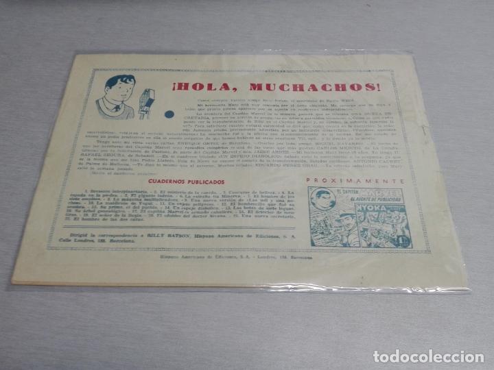 Tebeos: EL CAPITÁN MARVEL / LOTE CON 24 NÚMEROS / HISPANO AMERICANA ORIGINAL 1947 - Foto 35 - 164223218