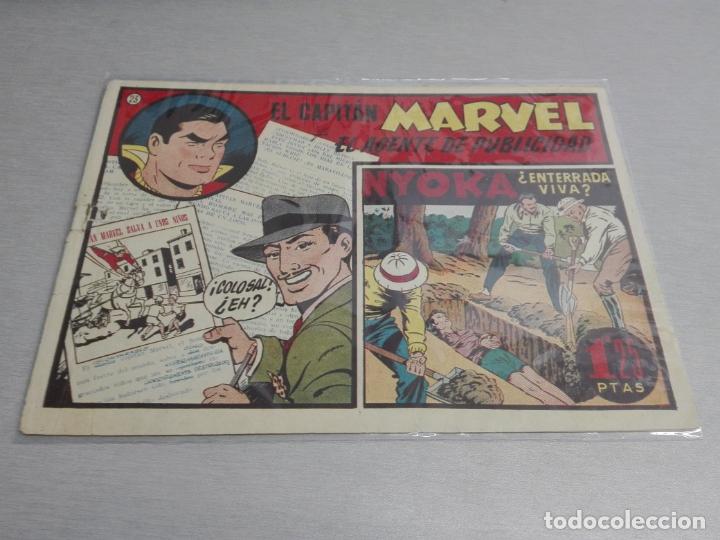 Tebeos: EL CAPITÁN MARVEL / LOTE CON 24 NÚMEROS / HISPANO AMERICANA ORIGINAL 1947 - Foto 36 - 164223218