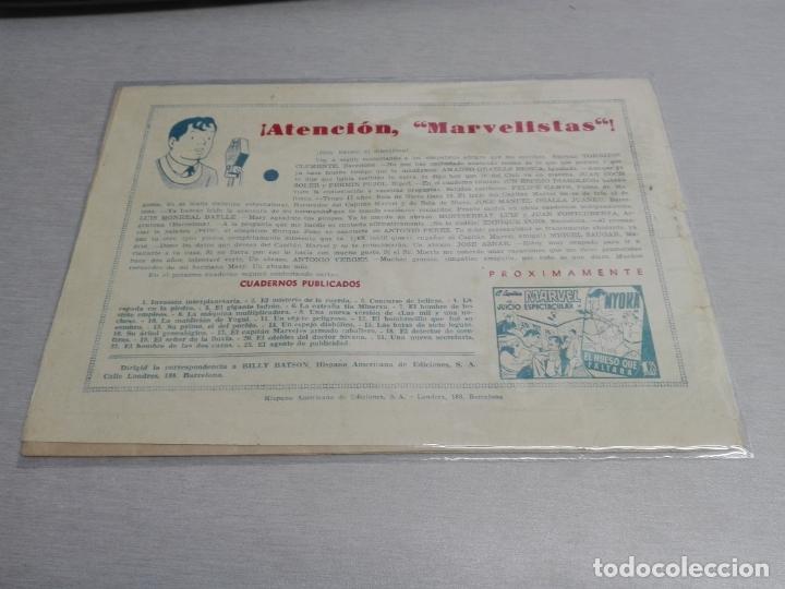 Tebeos: EL CAPITÁN MARVEL / LOTE CON 24 NÚMEROS / HISPANO AMERICANA ORIGINAL 1947 - Foto 37 - 164223218