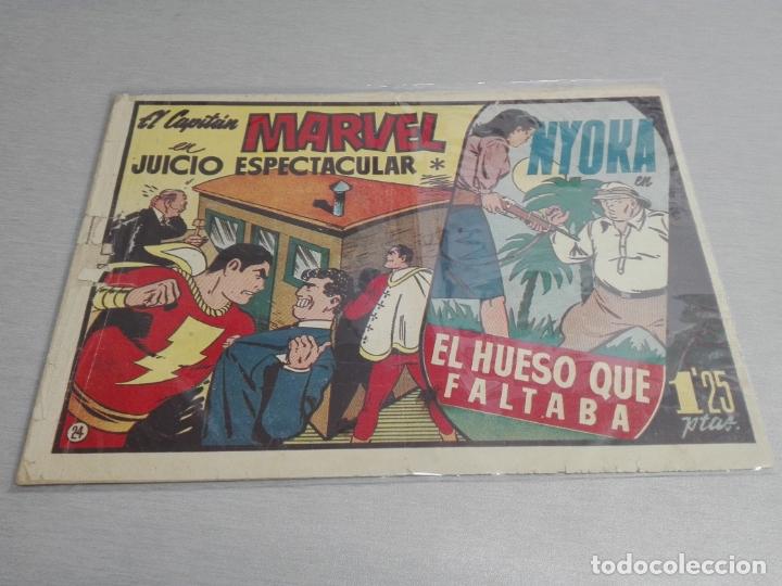 Tebeos: EL CAPITÁN MARVEL / LOTE CON 24 NÚMEROS / HISPANO AMERICANA ORIGINAL 1947 - Foto 38 - 164223218