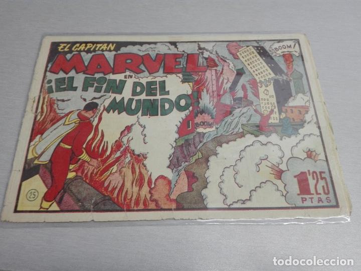 Tebeos: EL CAPITÁN MARVEL / LOTE CON 24 NÚMEROS / HISPANO AMERICANA ORIGINAL 1947 - Foto 40 - 164223218