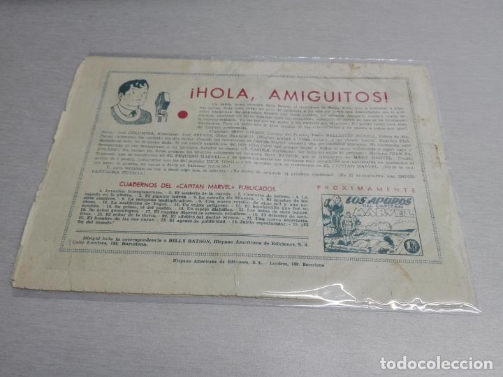 Tebeos: EL CAPITÁN MARVEL / LOTE CON 24 NÚMEROS / HISPANO AMERICANA ORIGINAL 1947 - Foto 41 - 164223218