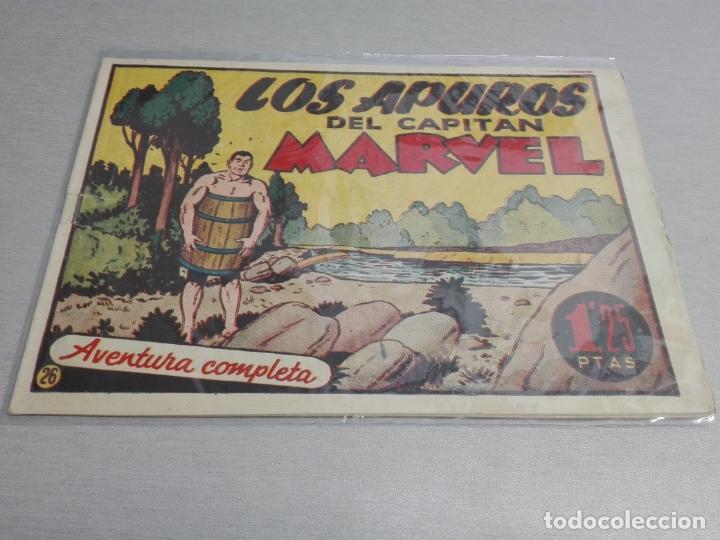 Tebeos: EL CAPITÁN MARVEL / LOTE CON 24 NÚMEROS / HISPANO AMERICANA ORIGINAL 1947 - Foto 42 - 164223218