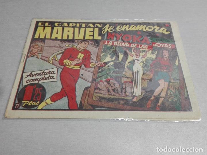 Tebeos: EL CAPITÁN MARVEL / LOTE CON 24 NÚMEROS / HISPANO AMERICANA ORIGINAL 1947 - Foto 43 - 164223218