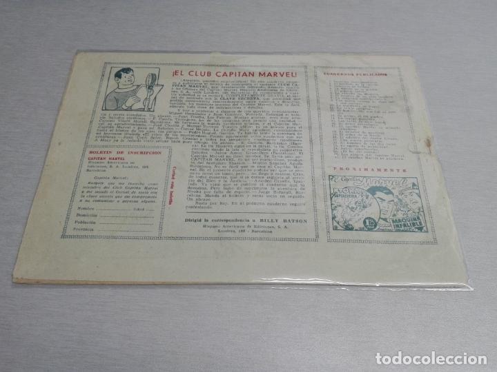 Tebeos: EL CAPITÁN MARVEL / LOTE CON 24 NÚMEROS / HISPANO AMERICANA ORIGINAL 1947 - Foto 44 - 164223218