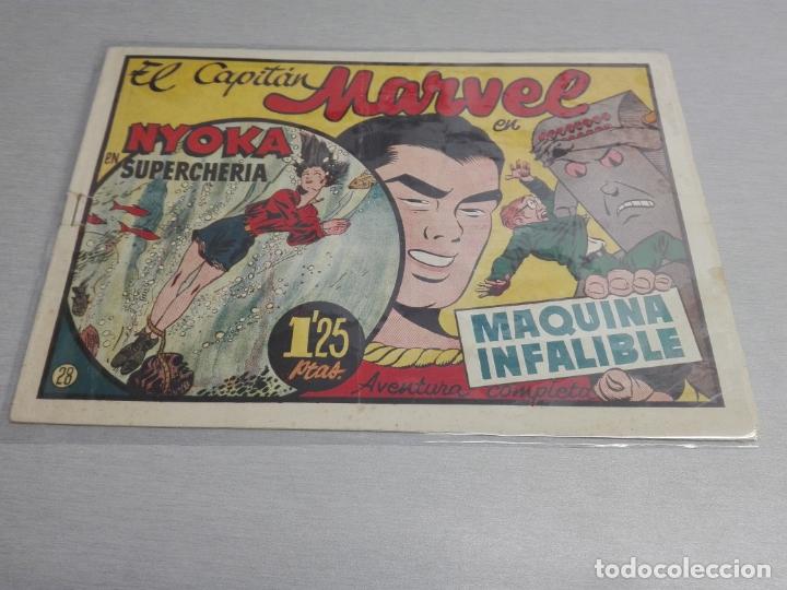 Tebeos: EL CAPITÁN MARVEL / LOTE CON 24 NÚMEROS / HISPANO AMERICANA ORIGINAL 1947 - Foto 45 - 164223218