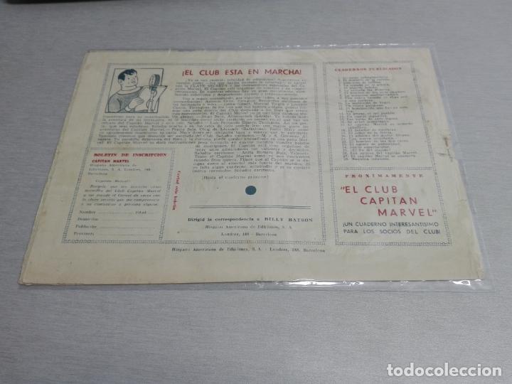 Tebeos: EL CAPITÁN MARVEL / LOTE CON 24 NÚMEROS / HISPANO AMERICANA ORIGINAL 1947 - Foto 46 - 164223218