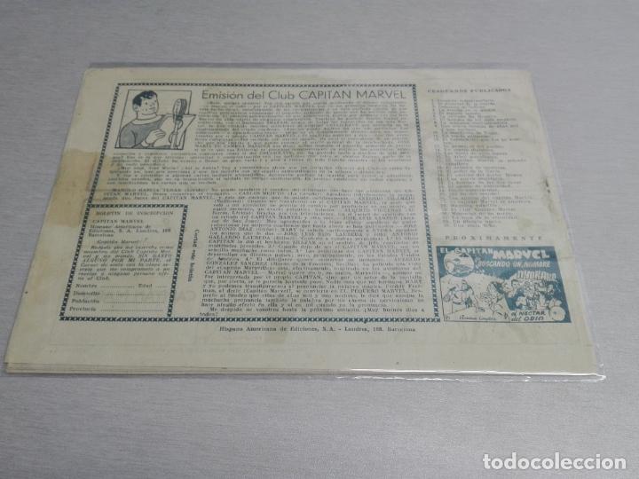 Tebeos: EL CAPITÁN MARVEL / LOTE CON 24 NÚMEROS / HISPANO AMERICANA ORIGINAL 1947 - Foto 50 - 164223218