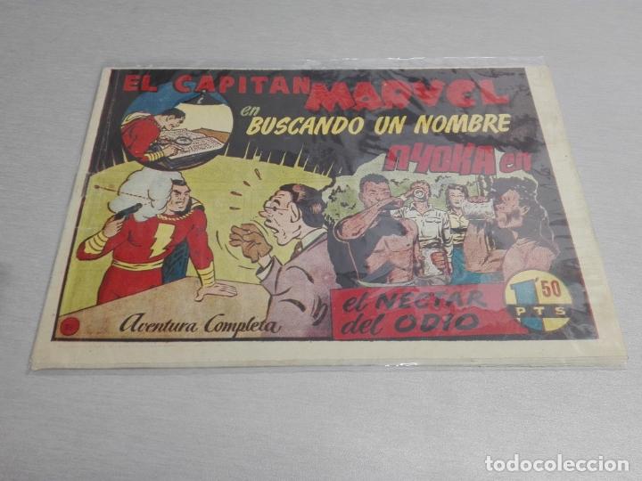 Tebeos: EL CAPITÁN MARVEL / LOTE CON 24 NÚMEROS / HISPANO AMERICANA ORIGINAL 1947 - Foto 51 - 164223218