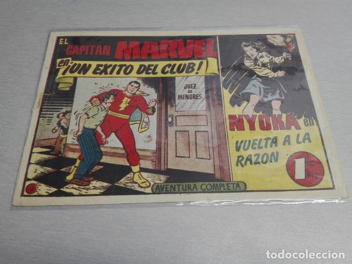Tebeos: EL CAPITÁN MARVEL / LOTE CON 24 NÚMEROS / HISPANO AMERICANA ORIGINAL 1947 - Foto 53 - 164223218