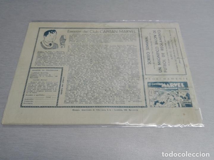 Tebeos: EL CAPITÁN MARVEL / LOTE CON 24 NÚMEROS / HISPANO AMERICANA ORIGINAL 1947 - Foto 54 - 164223218