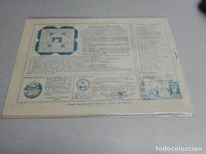 Tebeos: EL CAPITÁN MARVEL / LOTE CON 24 NÚMEROS / HISPANO AMERICANA ORIGINAL 1947 - Foto 56 - 164223218
