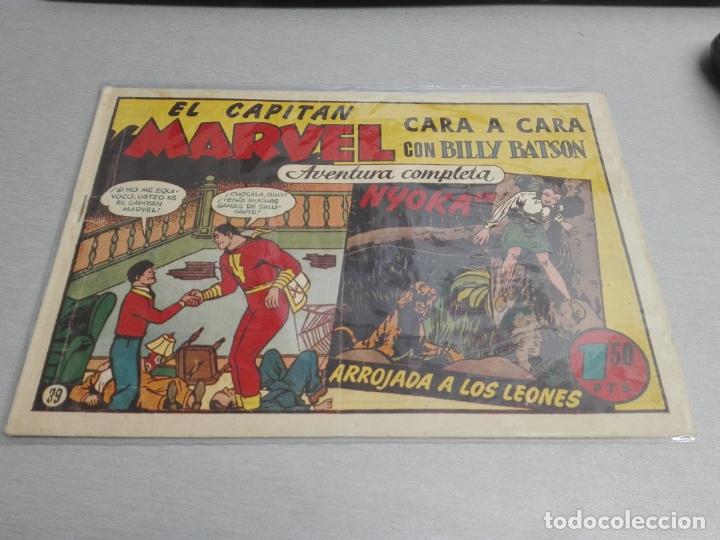 Tebeos: EL CAPITÁN MARVEL / LOTE CON 24 NÚMEROS / HISPANO AMERICANA ORIGINAL 1947 - Foto 57 - 164223218