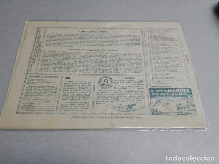 Tebeos: EL CAPITÁN MARVEL / LOTE CON 24 NÚMEROS / HISPANO AMERICANA ORIGINAL 1947 - Foto 58 - 164223218