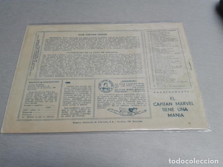 Tebeos: EL CAPITÁN MARVEL / LOTE CON 24 NÚMEROS / HISPANO AMERICANA ORIGINAL 1947 - Foto 60 - 164223218