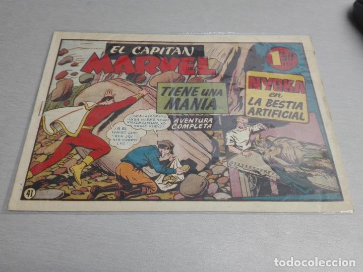Tebeos: EL CAPITÁN MARVEL / LOTE CON 24 NÚMEROS / HISPANO AMERICANA ORIGINAL 1947 - Foto 61 - 164223218