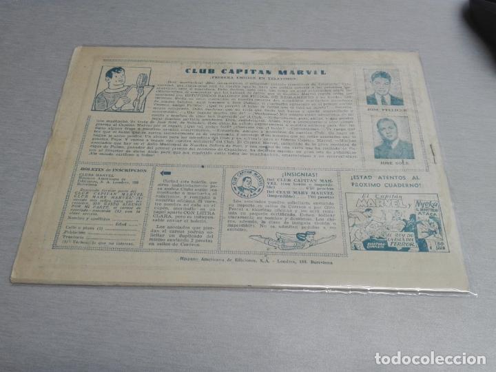 Tebeos: EL CAPITÁN MARVEL / LOTE CON 24 NÚMEROS / HISPANO AMERICANA ORIGINAL 1947 - Foto 62 - 164223218