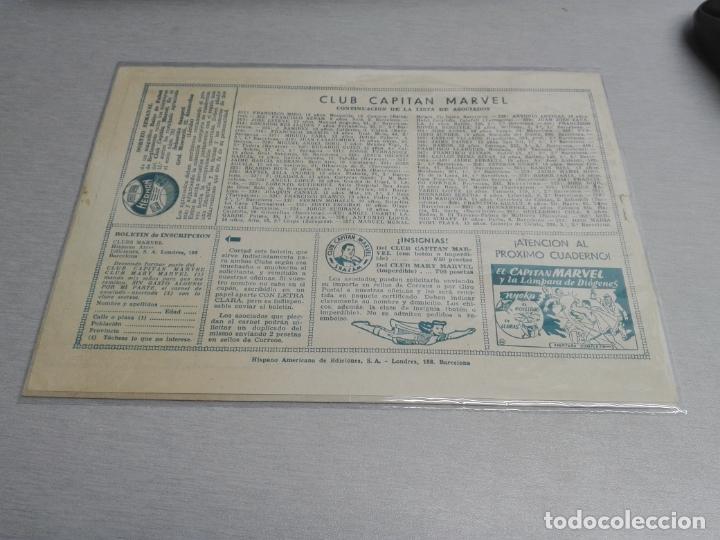 Tebeos: EL CAPITÁN MARVEL / LOTE CON 24 NÚMEROS / HISPANO AMERICANA ORIGINAL 1947 - Foto 64 - 164223218
