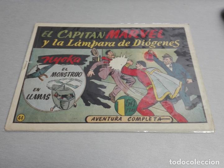 Tebeos: EL CAPITÁN MARVEL / LOTE CON 24 NÚMEROS / HISPANO AMERICANA ORIGINAL 1947 - Foto 65 - 164223218