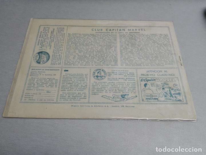Tebeos: EL CAPITÁN MARVEL / LOTE CON 24 NÚMEROS / HISPANO AMERICANA ORIGINAL 1947 - Foto 66 - 164223218