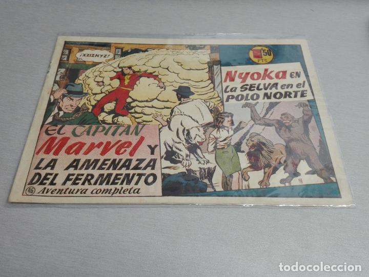 Tebeos: EL CAPITÁN MARVEL / LOTE CON 24 NÚMEROS / HISPANO AMERICANA ORIGINAL 1947 - Foto 69 - 164223218