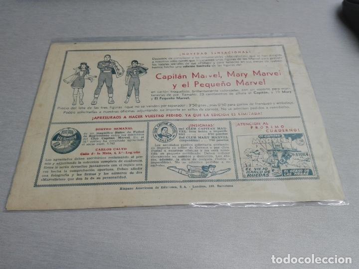 Tebeos: EL CAPITÁN MARVEL / LOTE CON 24 NÚMEROS / HISPANO AMERICANA ORIGINAL 1947 - Foto 70 - 164223218