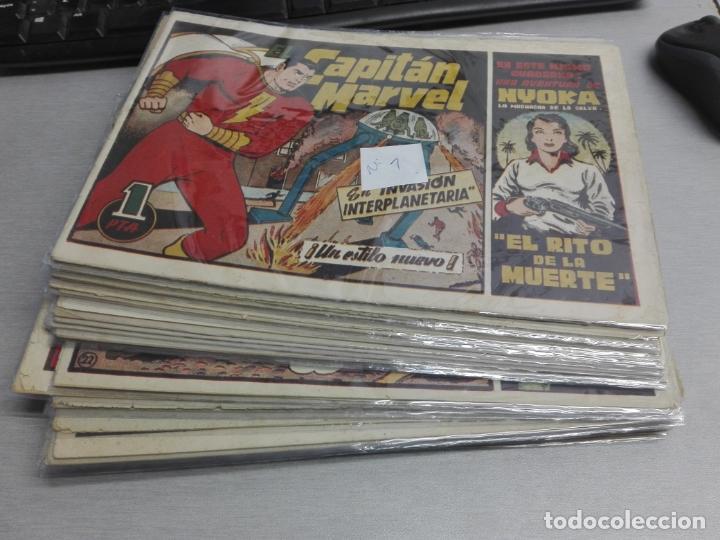 EL CAPITÁN MARVEL / LOTE CON 24 NÚMEROS / HISPANO AMERICANA ORIGINAL 1947 (Tebeos y Comics - Hispano Americana - Capitán Marvel)