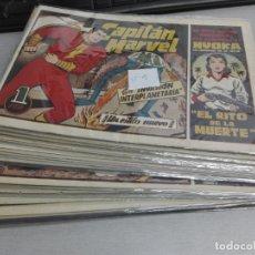 Tebeos: EL CAPITÁN MARVEL / LOTE CON 23 NÚMEROS / HISPANO AMERICANA ORIGINAL 1947. Lote 164223218