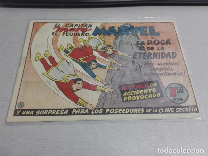 Tebeos: EL CAPITÁN MARVEL / LOTE CON 24 NÚMEROS / HISPANO AMERICANA ORIGINAL 1947 - Foto 71 - 164223218