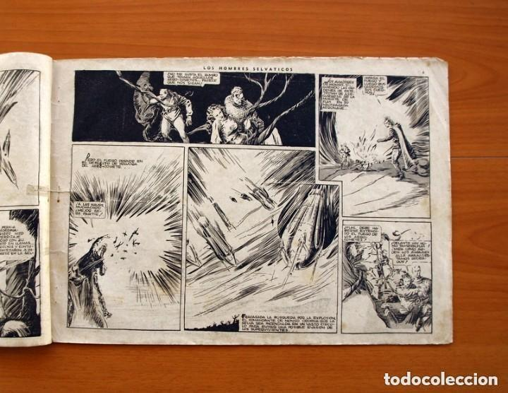 Tebeos: Flas Gordon (G.A.E.) - nº 7 - Los hombres selváticos - Hispano Americana 1942 - Tamaño 25x35 - Foto 3 - 164794310