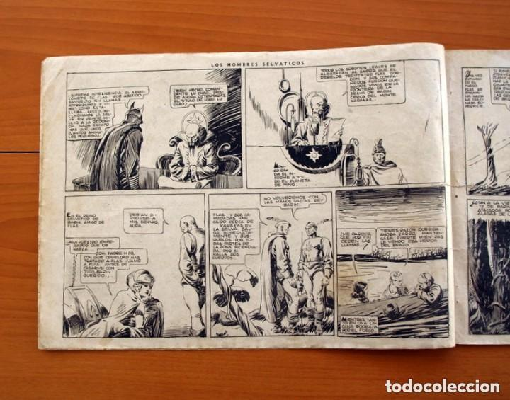 Tebeos: Flas Gordon (G.A.E.) - nº 7 - Los hombres selváticos - Hispano Americana 1942 - Tamaño 25x35 - Foto 4 - 164794310