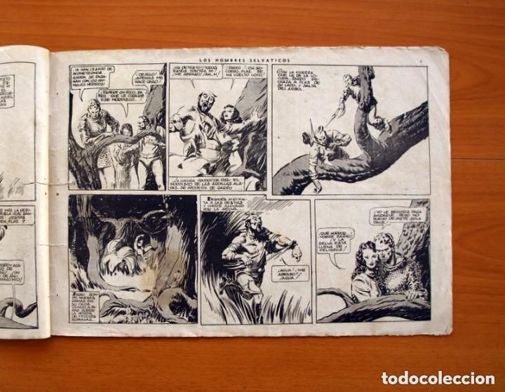 Tebeos: Flas Gordon (G.A.E.) - nº 7 - Los hombres selváticos - Hispano Americana 1942 - Tamaño 25x35 - Foto 5 - 164794310
