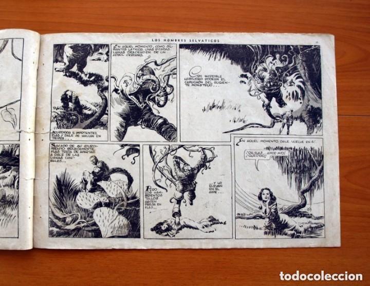 Tebeos: Flas Gordon (G.A.E.) - nº 7 - Los hombres selváticos - Hispano Americana 1942 - Tamaño 25x35 - Foto 6 - 164794310
