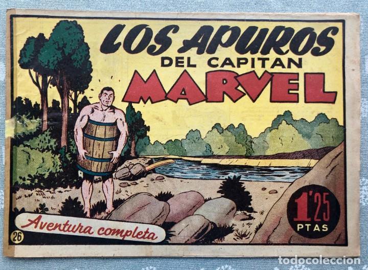 CAPITAN MARVEL NUMERO 26 ORIGINAL. LOS APUROS DEL CAPITAN MARVEL. HISPANO AMERICANA 1958. (Tebeos y Comics - Hispano Americana - Capitán Marvel)