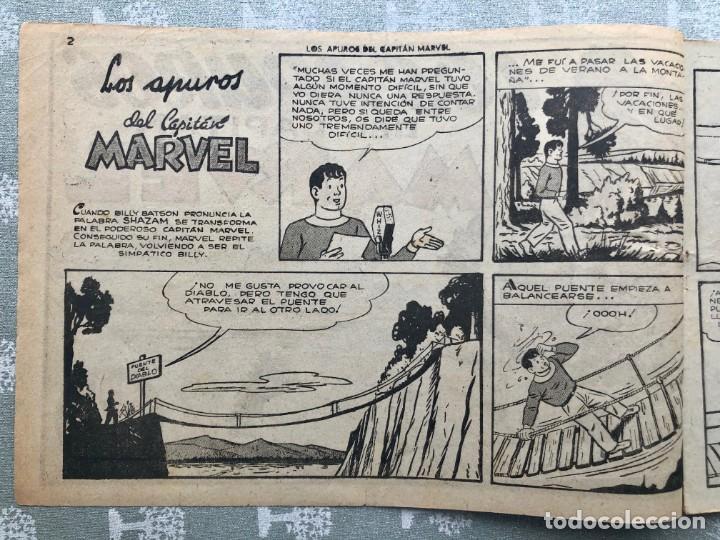 Tebeos: CAPITAN MARVEL NUMERO 26 ORIGINAL. LOS APUROS DEL CAPITAN MARVEL. HISPANO AMERICANA 1958. - Foto 2 - 164938234