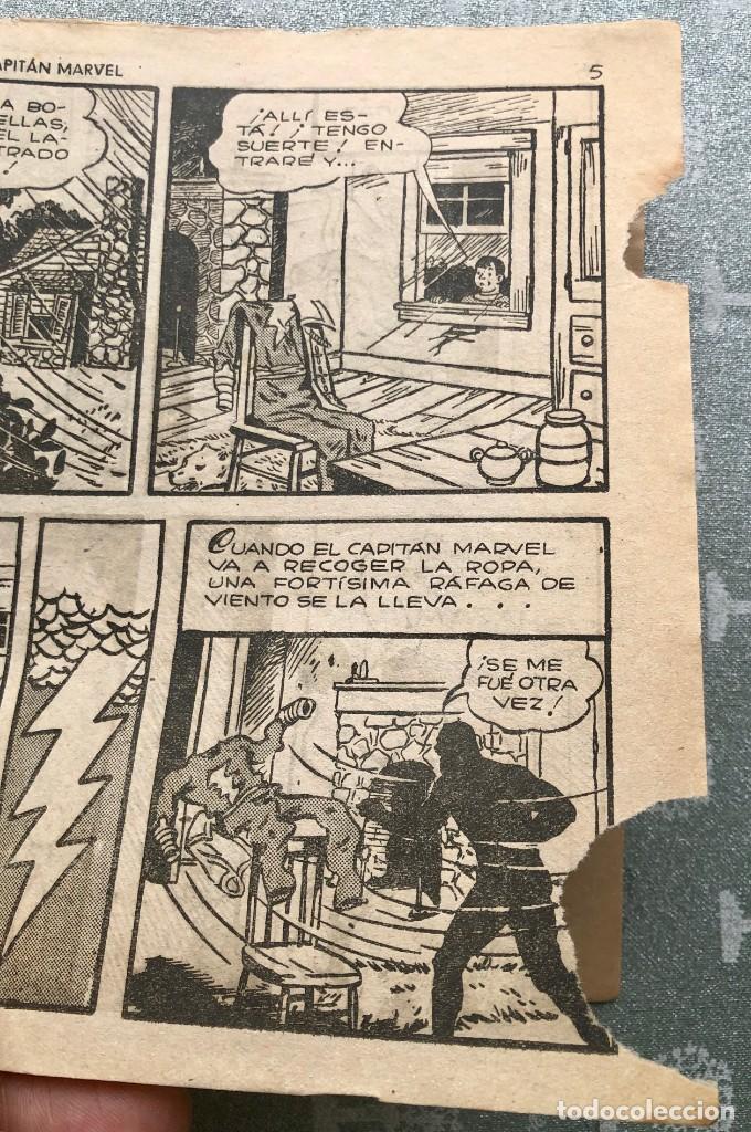Tebeos: CAPITAN MARVEL NUMERO 26 ORIGINAL. LOS APUROS DEL CAPITAN MARVEL. HISPANO AMERICANA 1958. - Foto 3 - 164938234
