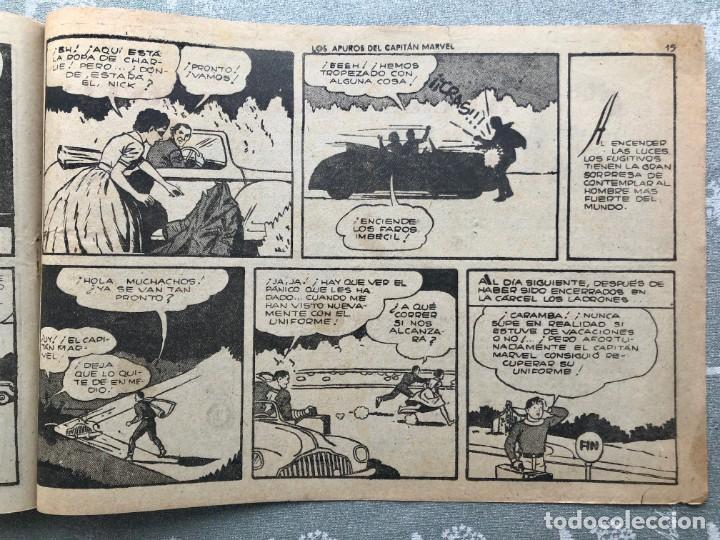 Tebeos: CAPITAN MARVEL NUMERO 26 ORIGINAL. LOS APUROS DEL CAPITAN MARVEL. HISPANO AMERICANA 1958. - Foto 7 - 164938234