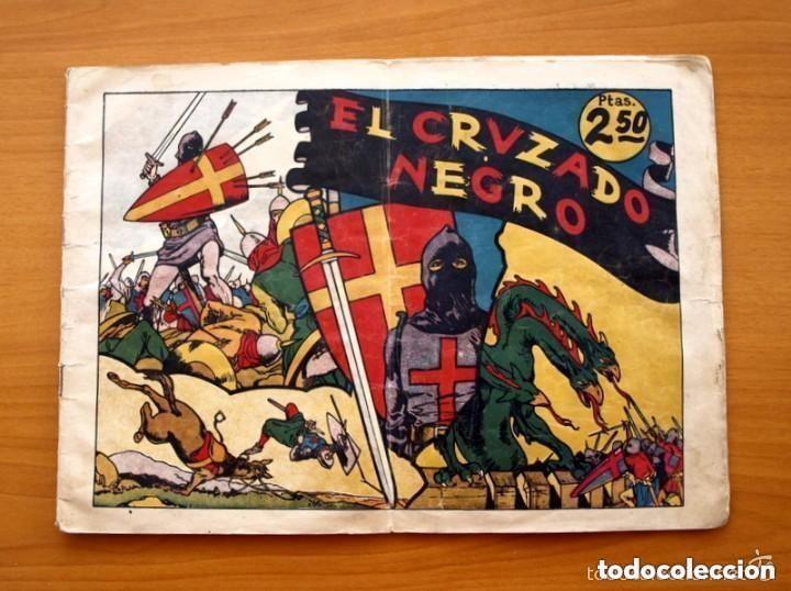 EL CRUZADO NEGRO - LAS GRANDES AVENTURAS DE 2,50, EJEMPLAR MONOGRÁFICO - ED. HISPANO AMERICANA 1942 (Tebeos y Comics - Hispano Americana - Otros)